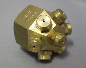 spraytech brass multi head mist nozzle