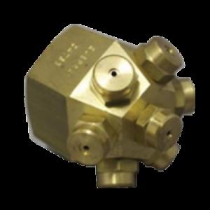 spraytech product brass type 7b multi head water mist spray nozzle