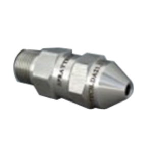 spraytech stainless steel narrow full cone injector nozzle type bb7
